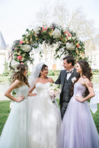 Luxury wedding in France , May 2016