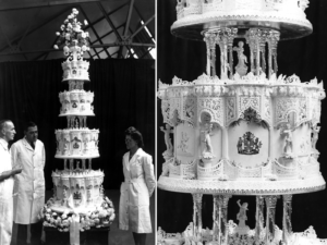 wedding in paris wedding cake (1)
